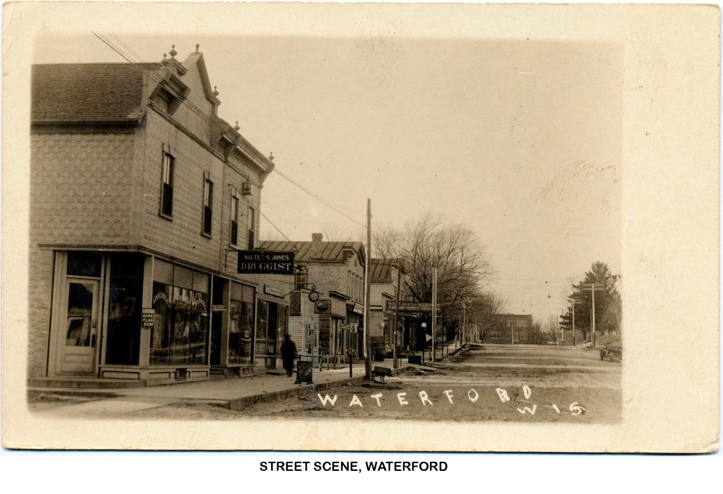 Main St Looking W ca1915